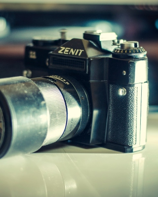 Zenit Photo Camera Background for Nokia X1-01