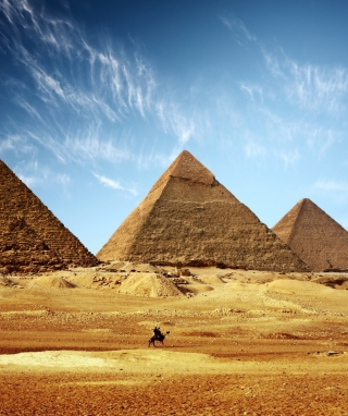 Pyramids Picture for 320x480