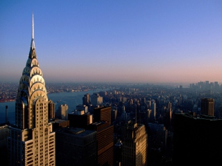 Chrysler Building sfondi gratuiti per cellulari Android, iPhone, iPad e desktop