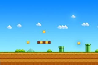 8 Bit Game Background for Android, iPhone and iPad