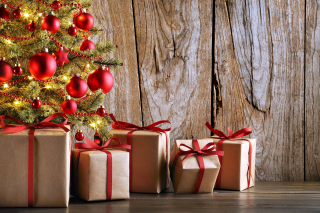 Christmas Presents Wallpaper for Android, iPhone and iPad