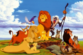 The Lion King Disney Cartoon - Obrázkek zdarma pro Samsung Galaxy Tab 7.7 LTE