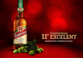 Gambrinus Excelent Lahev Background for Android, iPhone and iPad