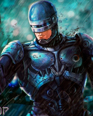 RoboCop Cyberpunk Film Background for Nokia Asha 310