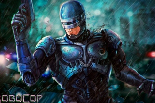 Free RoboCop Cyberpunk Film Picture for Android, iPhone and iPad