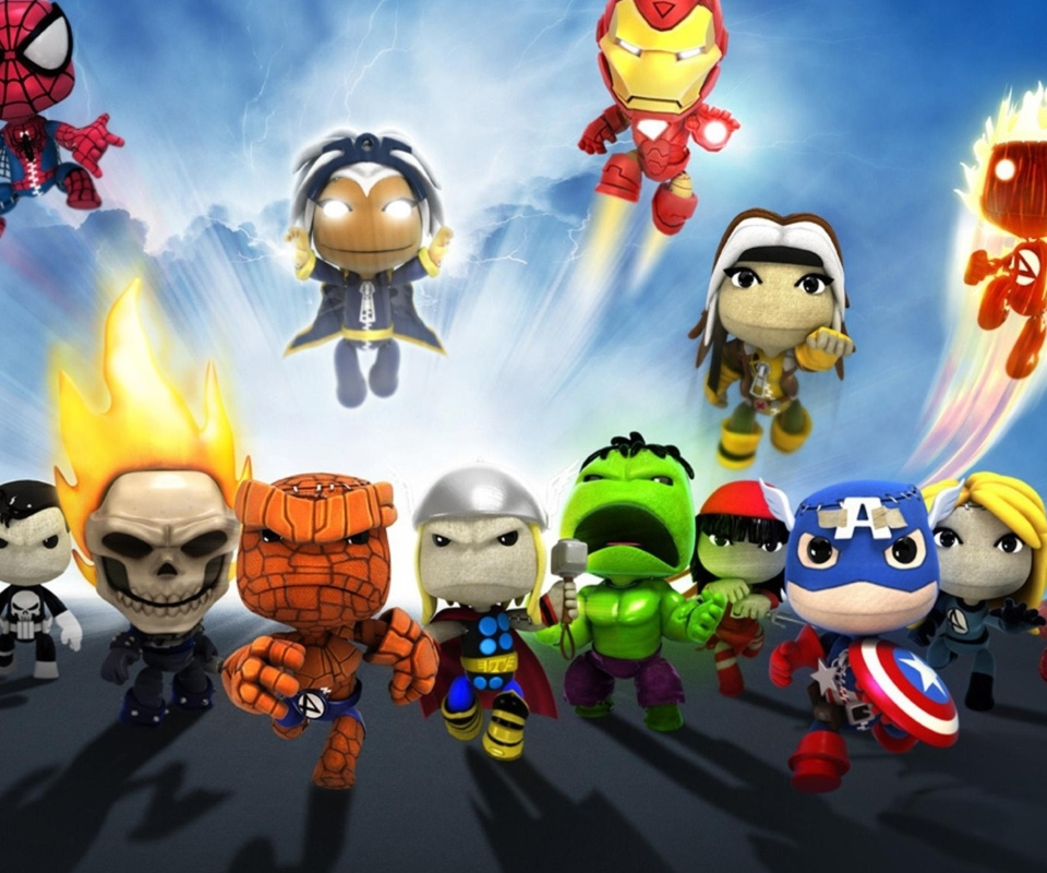 Planet Marvel Superheroes Kids screenshot #1 960x800
