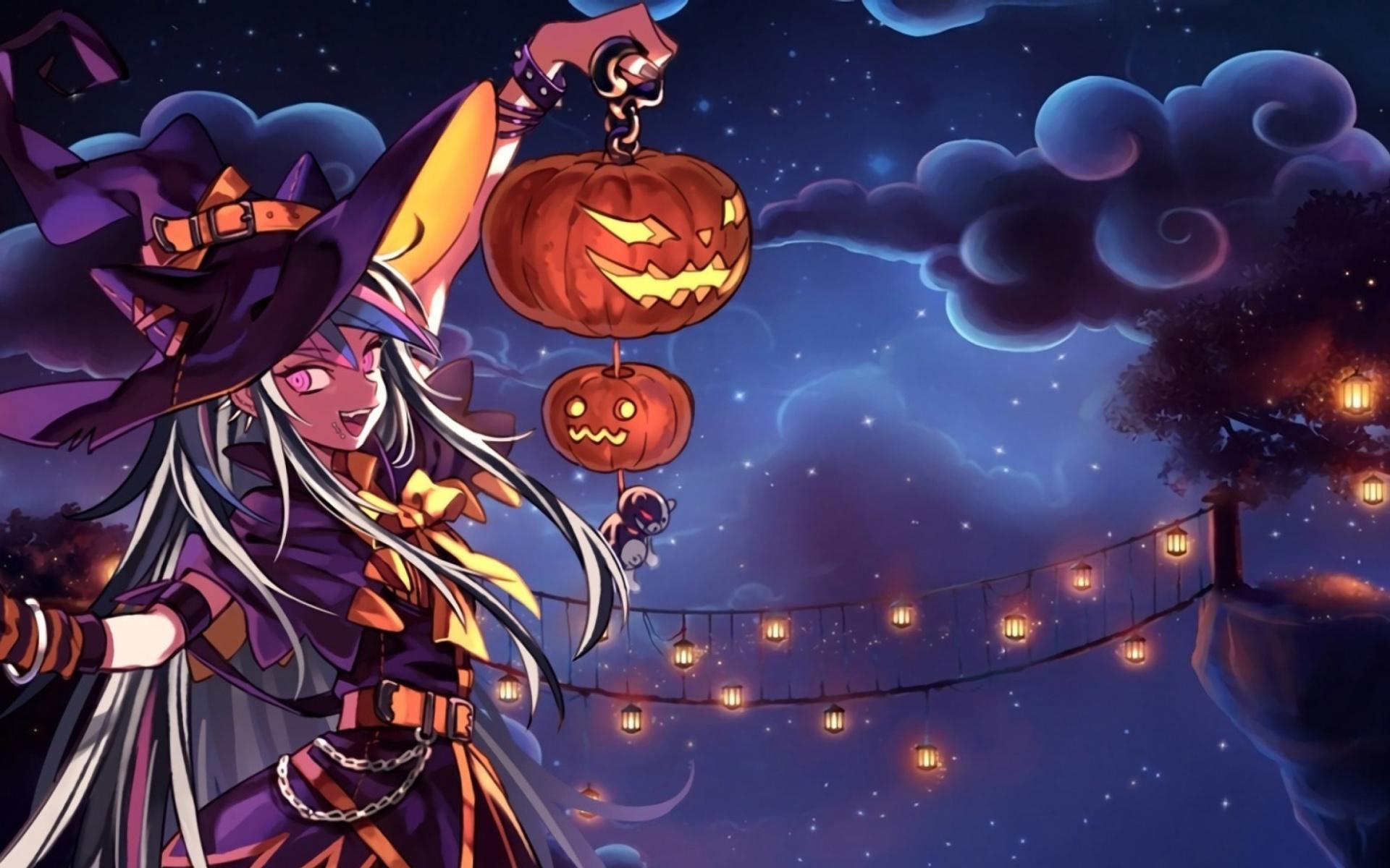 Halloween Anime - Fondos de pantalla gratis para ...