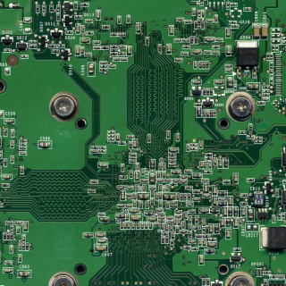 Computer Motherboard Background for Nokia 6100