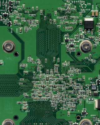 Computer Motherboard Wallpaper for Nokia Asha 306