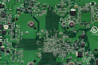 Computer Motherboard Background for Widescreen Desktop PC 1600x900