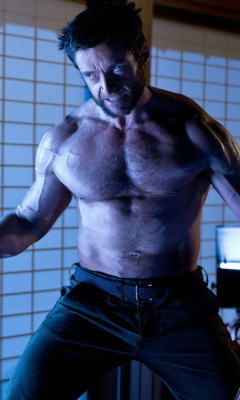 Screenshot №1 pro téma Hugh Jackman In The Wolverine 240x400