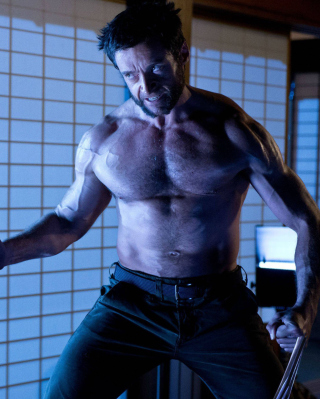 Hugh Jackman In The Wolverine Picture for Nokia Asha 306