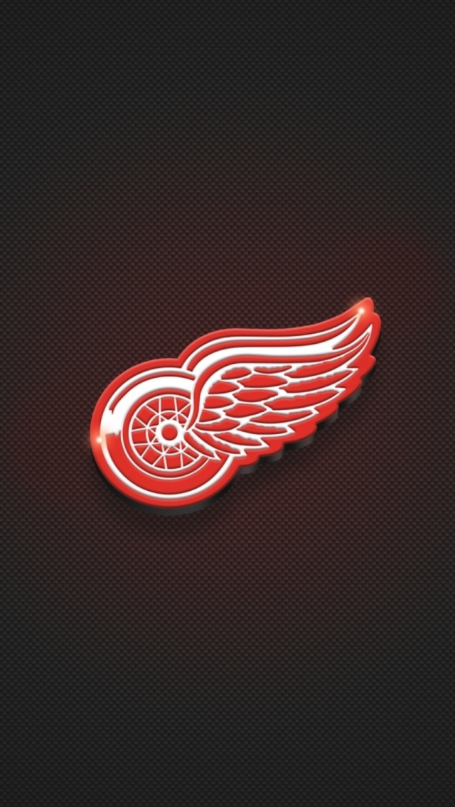 Screenshot №1 pro téma Detroit Red Wings 640x1136