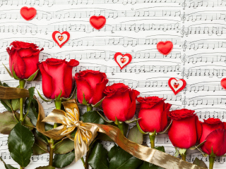 Roses, Love And Music for Nokia Asha 200