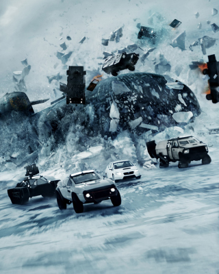 The Fate of the Furious 2017 Film - Obrázkek zdarma pro iPhone 4