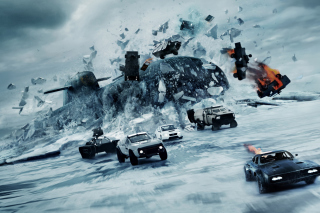 The Fate of the Furious 2017 Film - Obrázkek zdarma pro HTC One