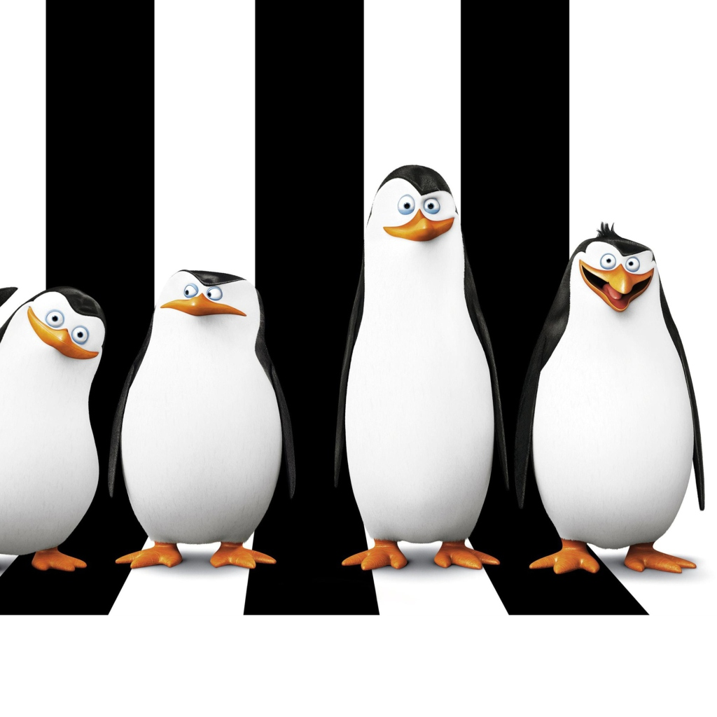 Screenshot №1 pro téma Penguins Madagascar 1024x1024