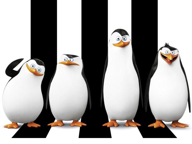Penguins Madagascar for Sony Ericsson XPERIA X8