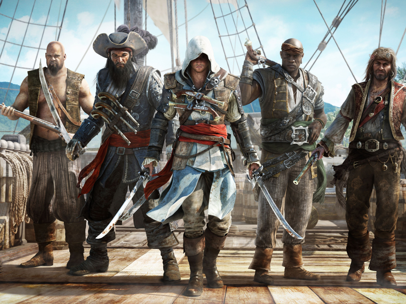 Screenshot №1 pro téma Assassins Creed IV Black Flag 1400x1050