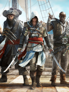 Screenshot №1 pro téma Assassins Creed IV Black Flag 240x320
