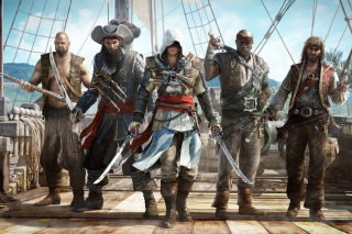 Kostenloses Assassins Creed IV Black Flag Wallpaper für 1400x1050