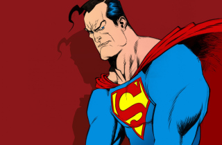 Free Superman Comic Art Picture for Android, iPhone and iPad