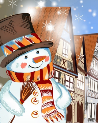 Christmas in Nuremberg Wallpaper for HTC Pure