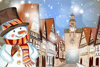 Christmas in Nuremberg Background for Android, iPhone and iPad