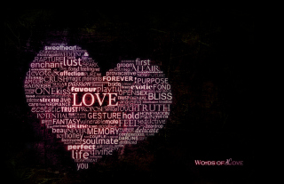 Free Words Of Love Picture for 320x240