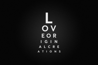 Love Typography Picture for Android, iPhone and iPad