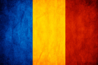 Romanian Flag Background for Android, iPhone and iPad