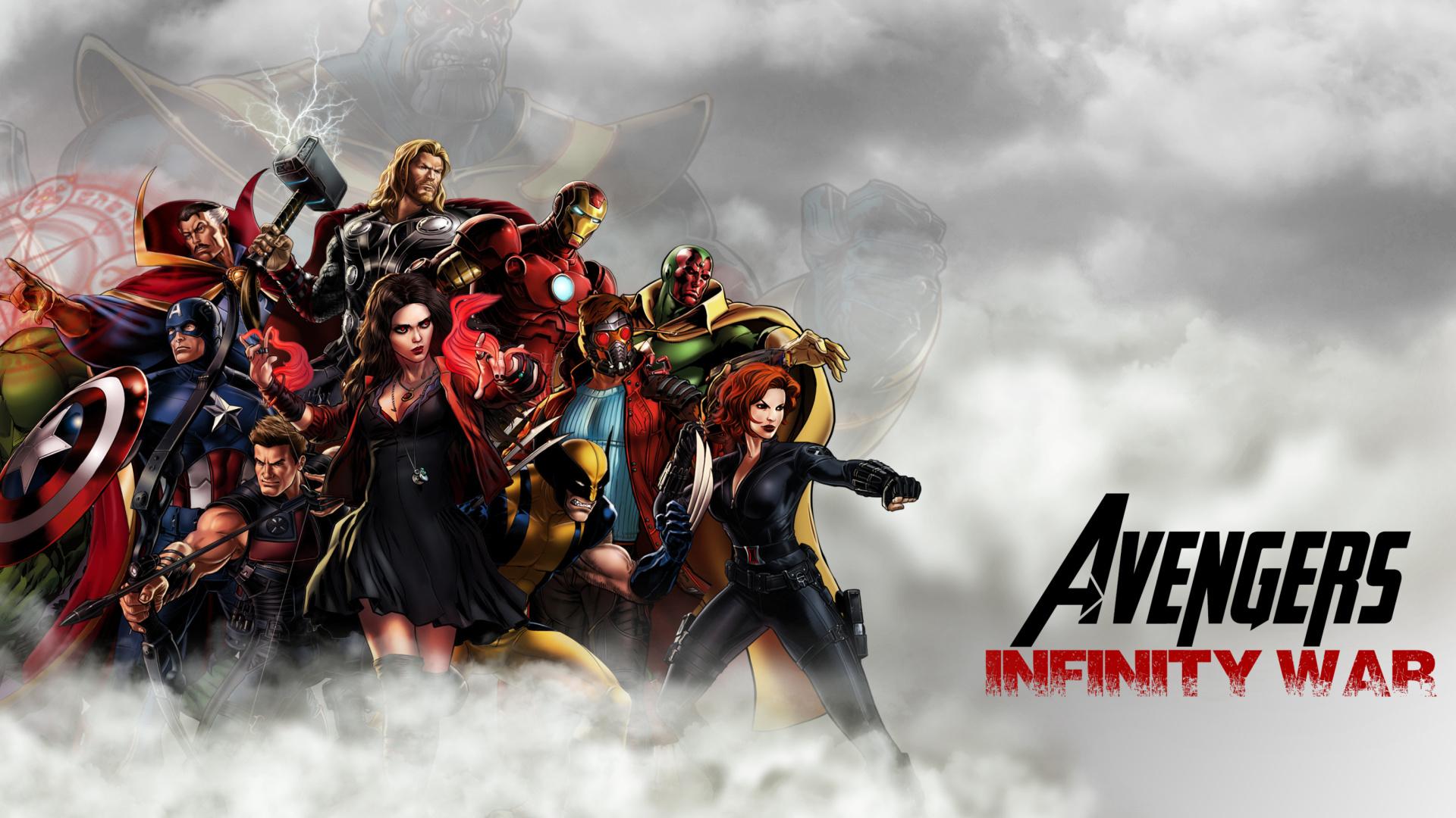 Avengers infinity war 2018 sfondi gratuiti per desktop for Sfondi infinity
