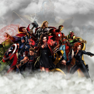 Avengers Infinity War 2018 Picture for iPad mini