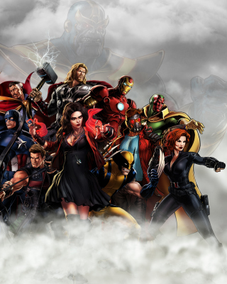 Avengers Infinity War 2018 Picture for Nokia Asha 305