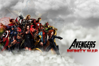 Avengers Infinity War 2018 Background for 220x176