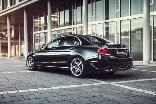 Mercedes C Klasse W205 Black Tuning Picture for Android, iPhone and iPad