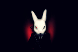 Evil Rabbit Picture for Android, iPhone and iPad