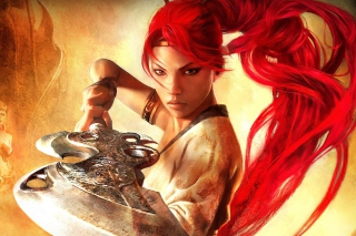 Heavenly Sword Warrior Wallpaper for HTC Desire HD