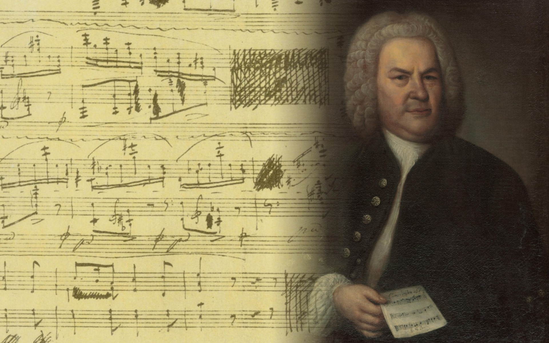 Johann Sebastian Bach Wallpaper For 1920x1200