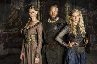 Vikings History Drama Background for Android, iPhone and iPad