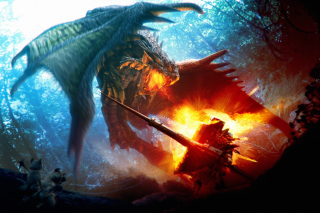 Monster Hunter Wallpaper for Fullscreen Desktop 1024x768