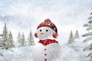 Snowman Wallpaper for Android, iPhone and iPad