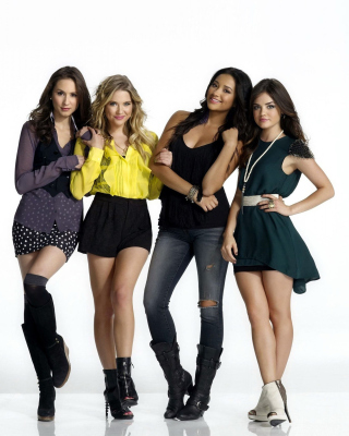 Pretty Little Liars TV Series Background for Nokia 5800 XpressMusic