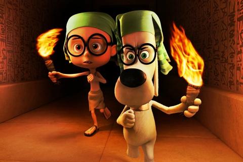 Mr. Peabody DreamWorks para Sony Ericsson XPERIA X10 mini pro
