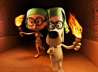 Mr. Peabody DreamWorks sfondi gratuiti per cellulari Android, iPhone, iPad e desktop