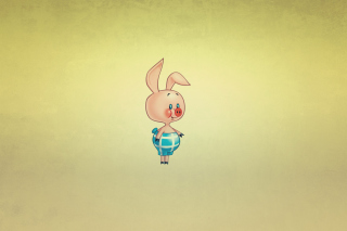 Piglet Wallpaper for Android, iPhone and iPad