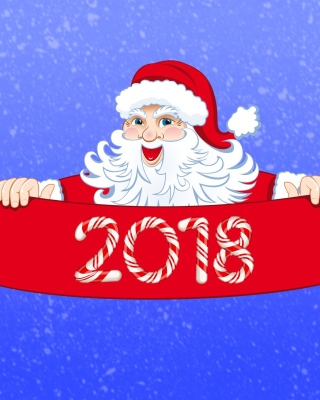 Free Santa Claus 2018 Greeting Picture for Nokia X2