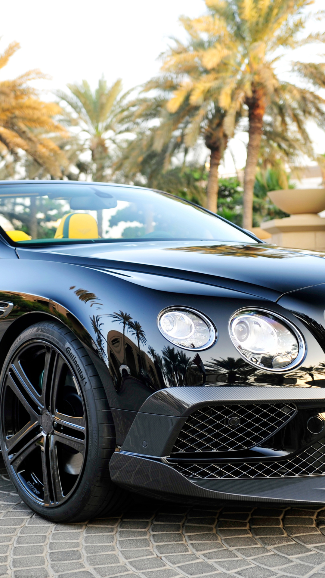 Screenshot №1 pro téma Bentley Continental GT 1080x1920