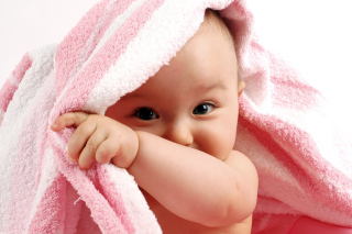 Cute Baby Background for Desktop Netbook 1024x600