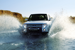 Mitsubishi Pajero Background for Android, iPhone and iPad
